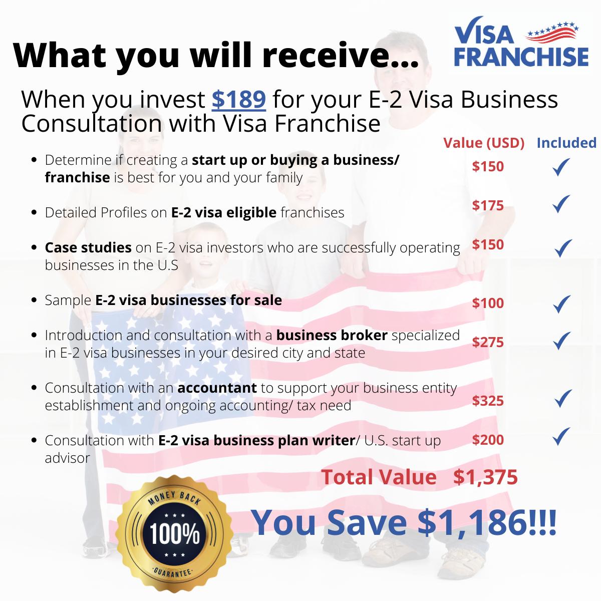 IAF- Visa Franchise E-2 Visa Business Consultation-1
